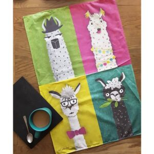 Alpaca Characters - Mel Smith Designs